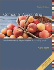 Cover of: Computer Accounting with Peachtree by Sage Complete Accounting 2010