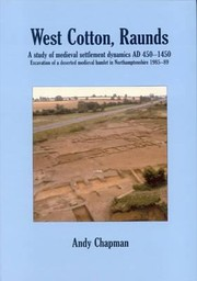 Cover of: West Cotton Raunds