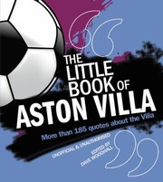 Cover of: Little Book of Aston Villa