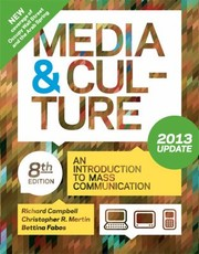 Cover of: Media Culture An Introduction To Mass Communication