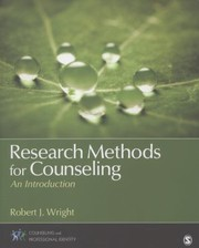 Cover of: Research Methods For Counseling An Introduction