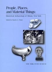Cover of: People, places, and material things |