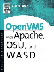 Cover of: OpenVMS with Apache, OSU and WASD | Alan Winston