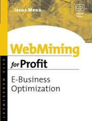 Cover of: Webmining for Profit