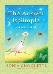 Cover of: The Answer Is Simple Oracle Cards With Guidebook