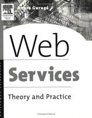 Cover of: Web Services | Anura Guruge