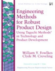 Cover of: Engineering Methods for Robust Product Design