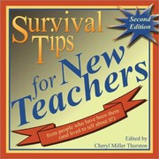 Cover of: Survival Tips for New Teachers