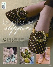 Cover of: Boutique Slippers