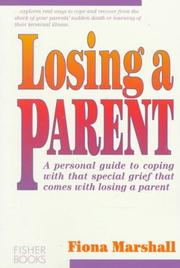 Cover of: Losing a parent