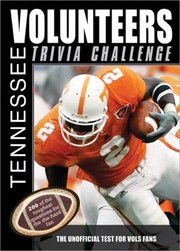 Cover of: Tennessee Volunteers Trivia Challenge