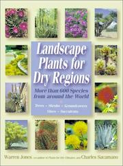 Cover of: Landscape plants for dry regions