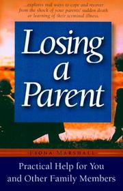 Cover of: Losing a parent | Fiona Marshall