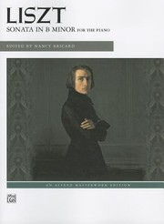 Cover of: Liszt  Sonata in B Minor