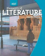 Cover of: Holt Elements of Literature Fourth Course