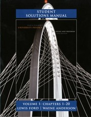 Cover of: Student Solutions Manual Sears Zemanskys University Physics 13th Edition