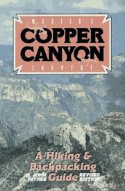 Cover of: Mexico's Copper Canyon country