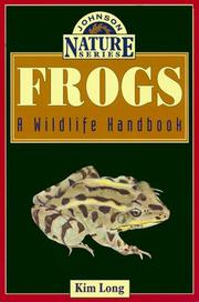 Cover of: Frogs | Kim Long