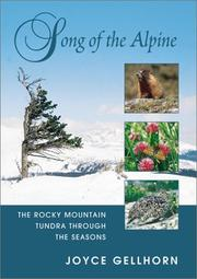 Cover of: Song of the Alpine