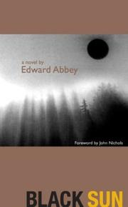 Black Sun by Edward Abbey