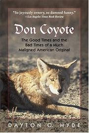 Cover of: Don Coyote