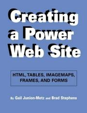 Cover of: Creating a power web site