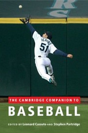 Cover of: The Cambridge Companion To Baseball
