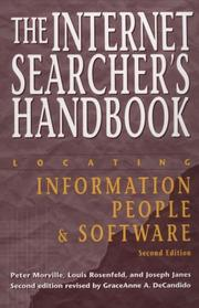 Cover of: The Internet searcher's handbook