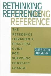 Cover of: Rethinking reference