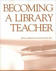 Cover of: Becoming a library teacher
