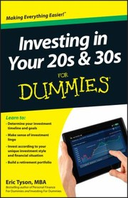 Cover of: Investing In Your 20s 30s For Dummies