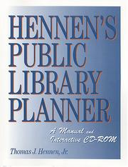 Cover of: Hennen's public library planner | Thomas J. Hennen