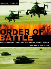 Cover of: Order of Battle