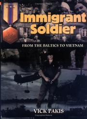Cover of: Immigrant soldier