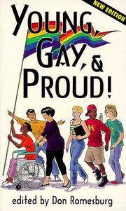 Cover of: Young, gay, and proud! |