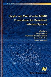 Cover of: Single And Multicarrier Mimo Transmission For Broadband Wireless Systems