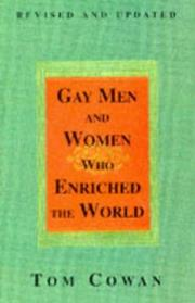 Cover of: Gay men & women who enriched the world