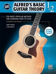 Cover of: Alfreds Basic Guitar Theory 1 2