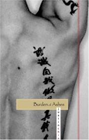 Cover of: Burden of ashes