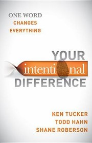 Cover of: Your Intentional Difference