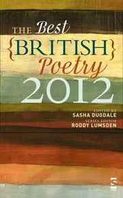 Cover of: The Best British Poetry 2012