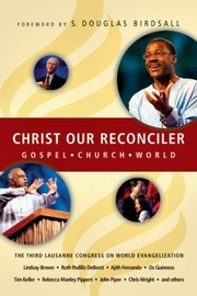 Cover of: Christ Our Reconciler