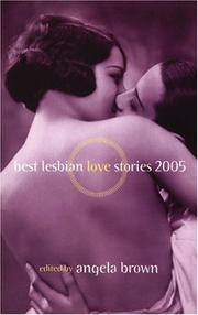 Cover of: Best lesbian love stories 2005 |