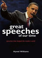 Cover of: Great Speeches Of Our Time