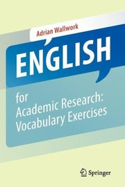 Cover of: English For Academic Research Vocabulary Exercises