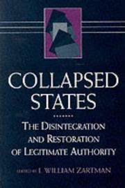 Cover of: Collapsed states |