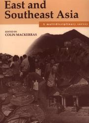 Cover of: East and Southeast Asia | Colin MacKerras