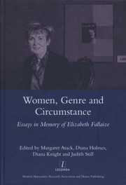 Cover of: Women Genre And Circumstance Essays In Memory Of Elizabeth Fallaize
