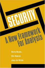 Cover of: Security