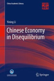 Cover of: Chinese Economy in Disequilibrium
